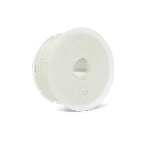 BQ Easy Go - Filamento PLA de 1.75 mm (100{35870cde2843dbb15bfe86df5ac8a20191a80717601aaeffac89f9555e8a3bac} PLA, resistente a la acetona, rápido endurecimiento) color transparente