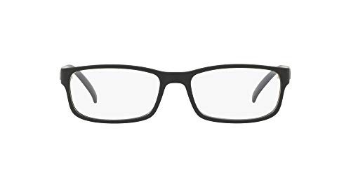 Ralph Lauren Men's 0PH2154 Eyeglass Frames, Matte Black, 56