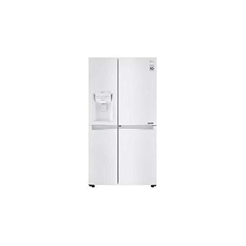 LG GSJ761SWZZ Amerikanischer Side-by-Side mit Wasser- und Eisspender - No Frost - Multi Airflow System - 601 Liter, Weiß - A++