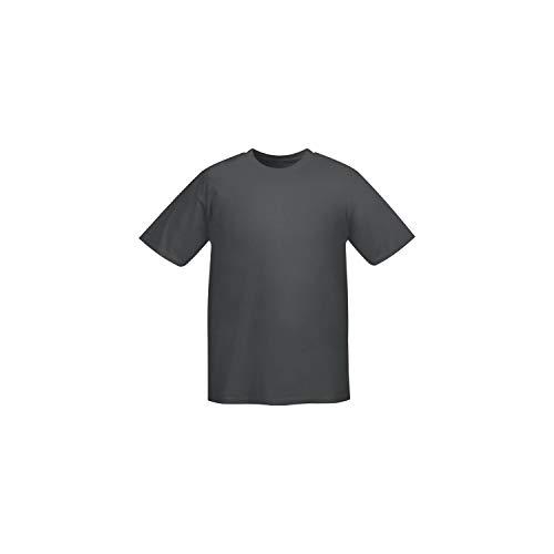 MISEMIYA - Camiseta Uniforme Laboral Industrial Taller MECÁNICO TÉCNICO Fontanero ALBAÑIL- Ref.001 - XL, Gris