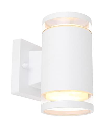 GLOBO LIGHTING 32063-2W Lampe extérieure, Carton, Blanc