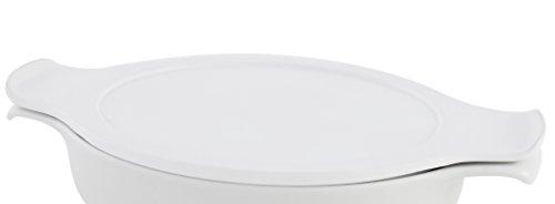 Eschenbach Porzellan Group Cook & Serve 18 cm Deckel, Porzellan, weiß