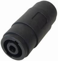 MANAX® PA Verbinder PA Kupplung auf PA Kupplung verriegelbare Lautsprecherkupplung - 5 Stück