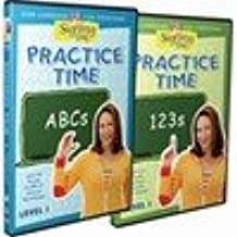 Signing Time Practice: Abcs & 123s Level 1