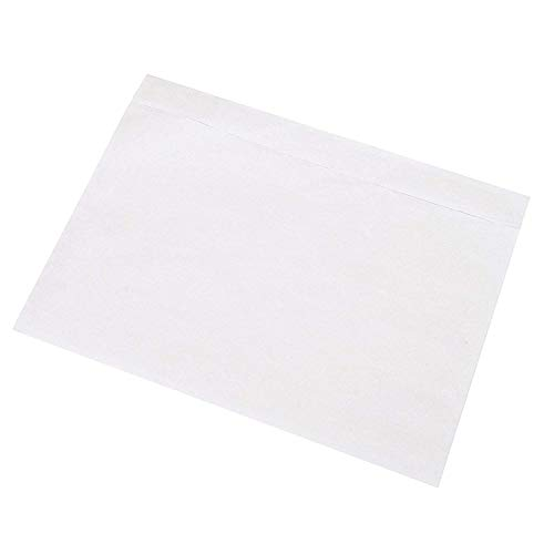"""Sales4Less Packing List Envelopes 7.5"""" X 5.5"""" Pouches Clear Enclosed Adhesive Bags Pack of 500"""