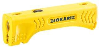 Jokari 30400 Outil à dégainer et dénuder polyvalent, Jaune