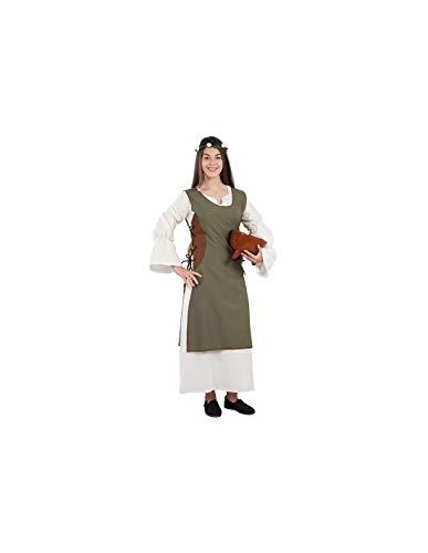 DISBACANAL Disfraz Campesina Medieval para Mujer - -, L