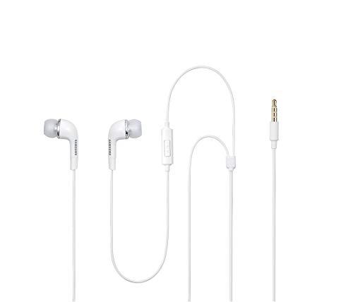 Samsung EHS64AVFWE - Auriculares in-ear (con micrófono, control remoto integrado), blanco