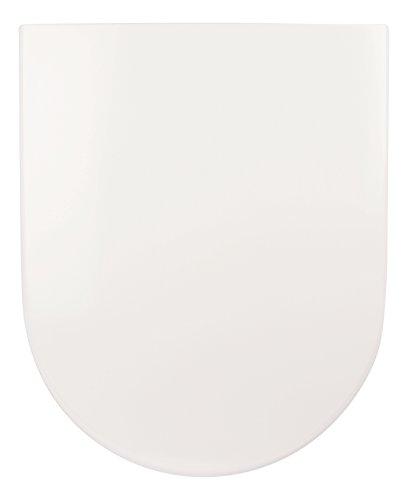 Villeroy & Boch 9M68S101 Sitz | WC-Brille aus Duroplast-Kunststoff | Soft-Close-Absenkautomatik I Take-Off I Edelstahl-Scharnier | Klodeckel, Subway 2.0 mit Absenkautomatik-9M68S101