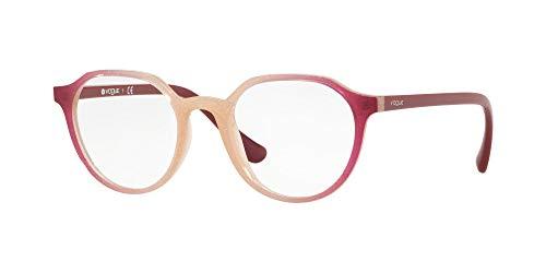 Vogue 0VO5226 Monturas de gafas, Opal Pink Glitter Grad Cyclamen, 48 para Mujer