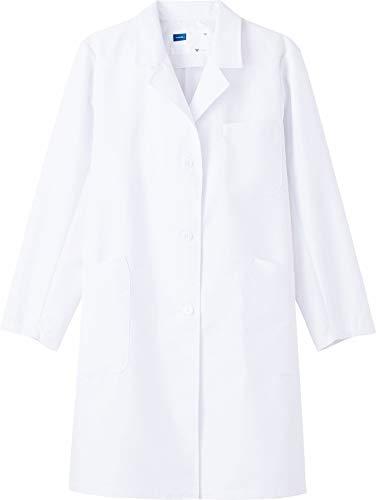 白衣 ドクターコートハーフ丈 レディースシングルハーフコート 【メディカルウェア・レディス】 (LL) WH11503