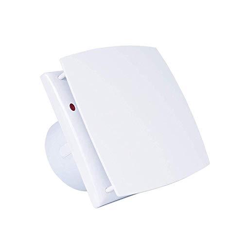 Bewox 6 Inch Exhaust Fan Window Wall Ventilation Slient Extractor Fan for Bathroom/Kitchen/Garage (Exhaust Fan - A)
