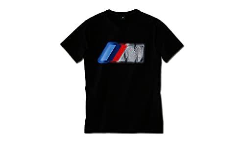BMW M - Camiseta con Logotipo Negro Medium