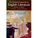 Hardcover The Oxford Companion to English Literature (1967-11-26) Book