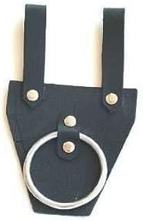 AnyTime Blades Genuine Leather Medieval Axe Hanger Viking Hatchet Tomahawk Holder Costume LARP