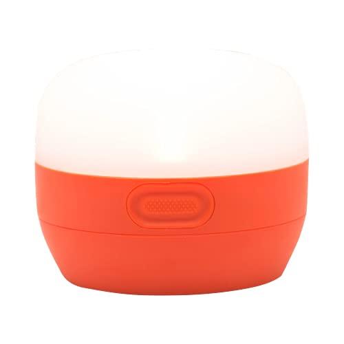 Black Diamond Moji / Lámpara de camping pequeña, 100 lúmenes, Naranja Vibrante
