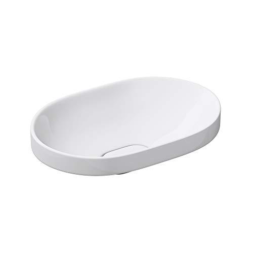 Mai & Mai: Einbauwaschbecken mit Nano-Beschichtung Brüssel5006A aus Keramik,weiß