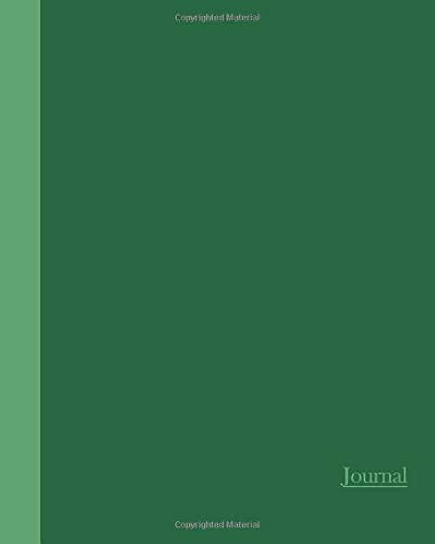 驚のぞき穴同性愛者Journal: Two Tone Green 8x10 - LINED JOURNAL - Writing journal with blank lined pages (Watercolor Flowers Lined Journal)