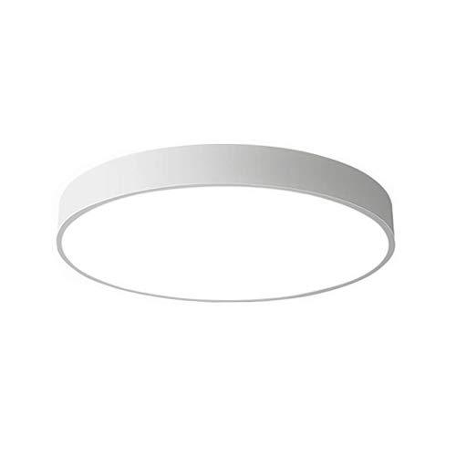 18W LED Deckenleuchte Deckenlampe rund warmweiß 3000k für küche Dieler Schlafzimmer (Weiß)