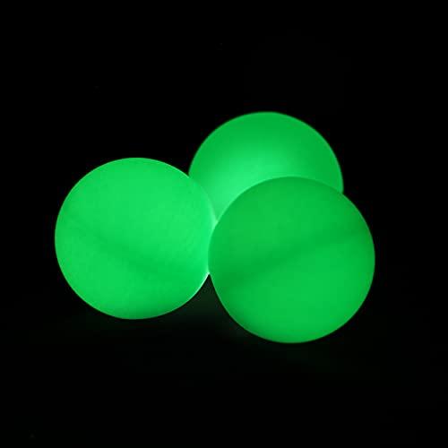 Plain Colour Ping Pong Table Tennis Balls 40mm No Logos Glow In The Dark...