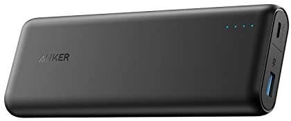 Anker PowerCore Speed 20100mAh Powerbank mit Power Delivery, 20000 PD Externer Akku extrem hohe Kapazität iPhone 8 / X, USB Typ C MacBooks und weitere (Generalüberholt)