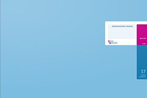 König und Ebhardt 8617679-8317K48KL Amerikanische Journale (490 x 332 mm, 48 Blatt) hellblau