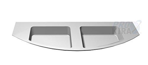PELIPAL Cassca Mineralmarmor-Doppelwaschtisch, Weiß/CS-MMDWTR 51-1530-W/B: 150 cm
