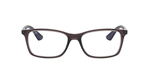 Ray-Ban Herren 0RX7047 Brillengestelle, Grau (Transparente Grey), 53