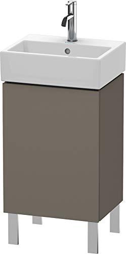 Duravit Duravit Waschtischunterbau L-CUBE 593 x 434 x 341 mm Anschlag rechts flannel grey seidenmatt