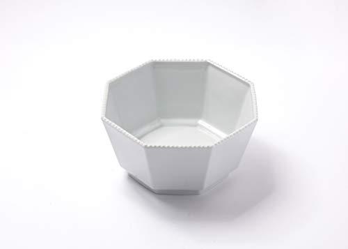 Reichenbach Porzellan Schale - Schüssel aus der Serie Taste von Paola Navone - Oktagonal 20 cm – Weiss