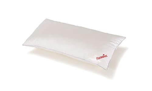 Paradies Kopfkissen Softy medium 40 x 80 cm, mit Fleckschutz Gewebeveredelung und Reißverschluss