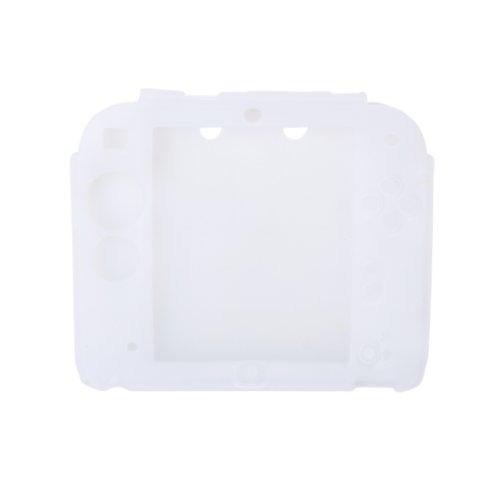 Générique Etui Housse Coque de Protection en Silicone pour 2DS - Blanc