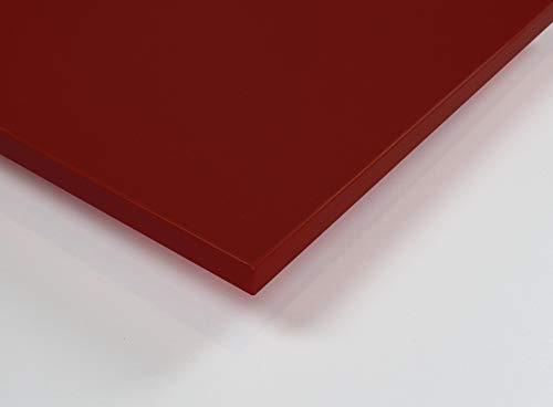 MySpiegel.de Tischplatte Holz Zuschnitt nach Maß Beschichtete Holzdekorplatte (120 x 70 cm, Lipstick)