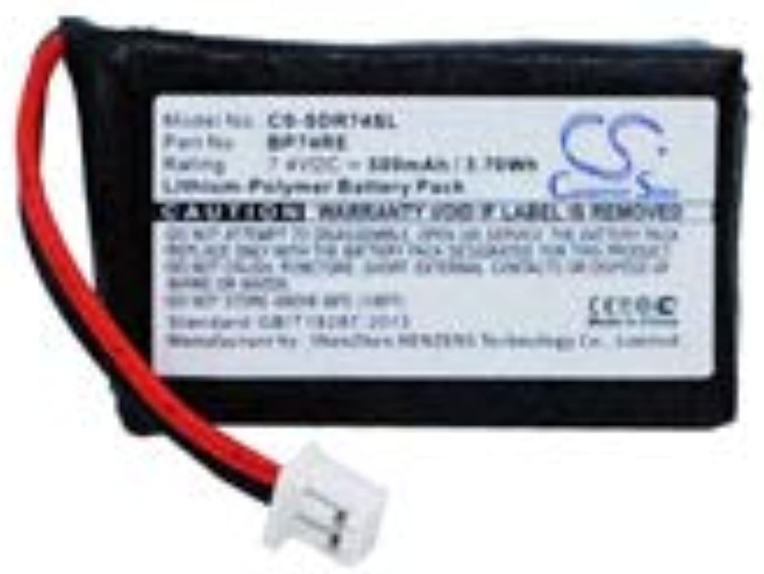 Replacement for DOGTRA Edge RT Additional Receiver Battery