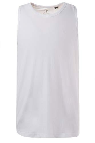 JP 1880 Herren große Größen bis 8 XL, Basic Unterhemd, Tanktop, Ärmellos, Rundhals, weiß 3XL 705145 20-3XL
