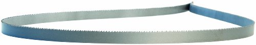 Lenox Diemaster 2 Vari-Raker Band Saw Blade, Bimetal, Regular Tooth, Raker Set, Positive Rake, 64.5' Length, 1/2' Width, 0.025' Thick, 10-14 TPI