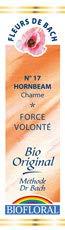 Biofloral, Flores De Bach 17 Hornbeam - Hojarazo Bio Demeter - 20 ml