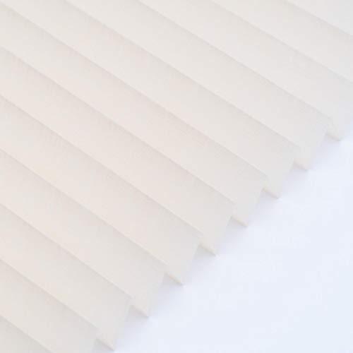Plissee auf Maß, Tahiti beige Textur', transparent, Montage nach Wahl, Raumausstatterqualität, Muster 20x20 cm