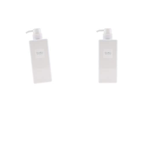 Baoblaze Bouteille Conteneur De Cosmétiques Distributeur De Savon Moussant Liquide - Blanc 650ml