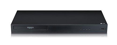 LG UBK80 Ultra HD 4K Blu-ray-Player (mit HDR und Dolby Atmos) schwarz