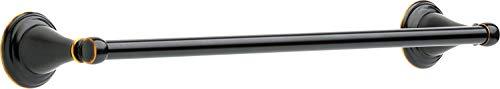 Delta Faucet Windemere 18 inch Towel Bar, Oil Rubbed Bronze, Bathroom Accessories, 70018-OB