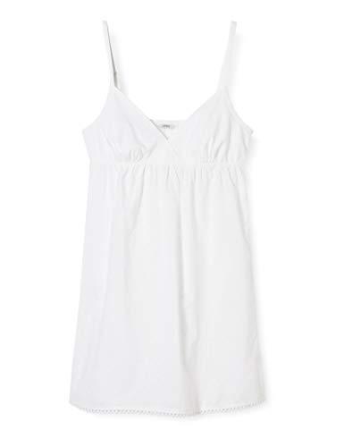 ESPRIT wear Damen DACE CAS NW Chemise Nacht romantisch Nachthemd, 100, 38
