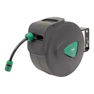 mächtig STIER SGS-200 20 + 2m Gartenschlauchtrommel Mit automatischer Rotationspistole für Gartenschlauch