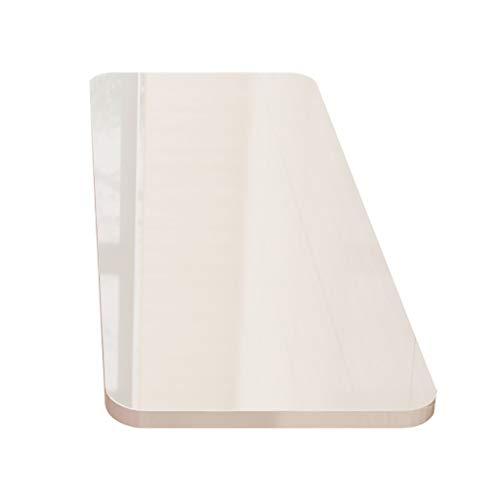 Tavolino klaptafel, wandtafel, eettafel, laptop, bureau, multifunctionele werkbank, 12 afmetingen (kleur: wit, afmetingen: 80 x 40 cm) 80 * 40cm