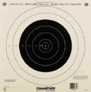 Champion Official NRA Paper Targets 100 yd. Small Bore Rifle (Single Bull) 12 Pack # 40762