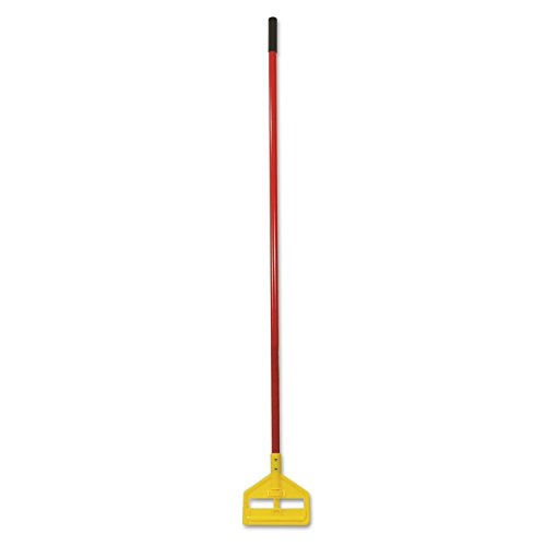 Rubbermaid Commercial Invader 60 Inch Fiberglass Wet Mop Handle, Red (FGH14600RD00)