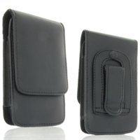 Preisvergleich Produktbild Handytasche Vertikaltasche passend für Sony Xperia Z1 ComPact Handy Schutz Hülle Slim Case Cover Etui schwarz (x1)