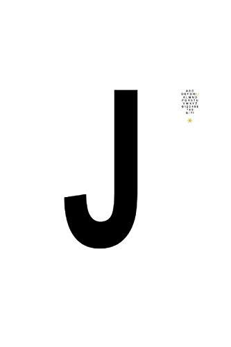 Alphabet J | A B C D E F G H I J K L M N O P Q R S T U V W X Y Z 0 1 2 3 4 5 6 7 8 9 & / ? ! *: Notizblock | 120 Seiten Weiss, Kariert (Karomuster) | Cover Matt | Masse 15,2 X 22,8 Cm (Bxh)
