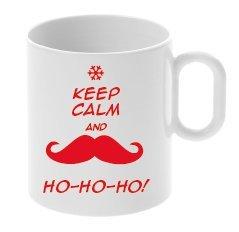 My Custom Style Tazza in POLIMERO # Natale Keep Calm And Ho Ho Ho#