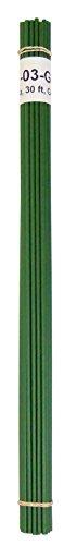 High Density Polyethylene (HDPE) Plastic Welding Rod, 1/8' Diameter, 30 ft, Green